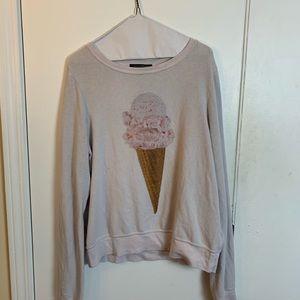 Wildfox ice cream sweatshirt size M